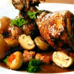 Chicken Chest with Classic Red Wine Sauce