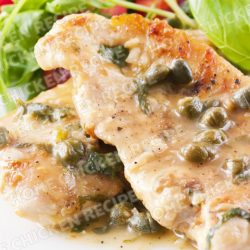 Chicken Piccata with Creamy lime Sauce