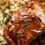 Honey Glazed Garlic Chicken