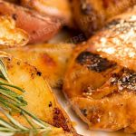 Maple Rosemary Glazed Chicken