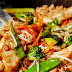 Simple-Stir-fry-Ginger-Chicken